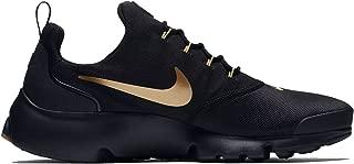 Mens Presto Fly Running Shoes Black/Metallic Gold/Gum 908019-010 Size