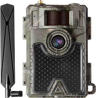 WingHome 4G Cellular Trail Camera 480Ace, 8/12/24MP FHD...