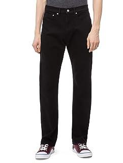 Calvin Klein Jeans Men's 037 Relaxed Straight Fit Denim Jean