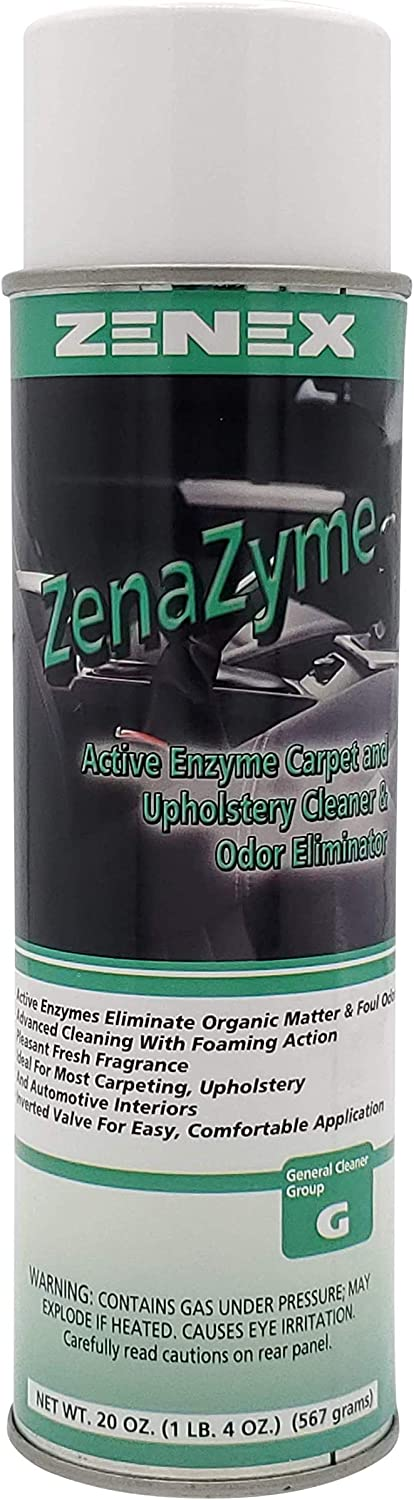 Zenex ZenaZyme Active Enzyme Carpet Albuquerque Mall Upholstery Manufacturer regenerated product and Odo Cleaner