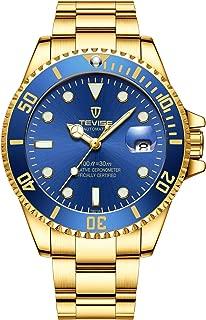 Swiss Luminous Submariner Watch Men's Automatic Mechanical Watch Fashion Gold Stainless Steel Waterproof Calendar Watch
