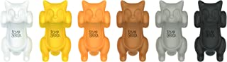 TrueZoo 4219 Paws Off Glass Markers (Set Of 6), Multicolor