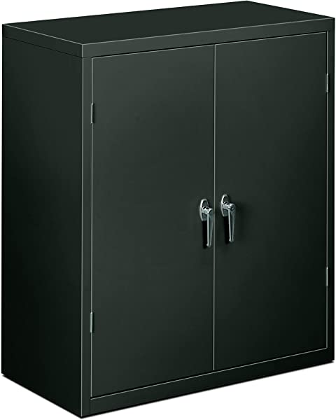 HON Brigade Series Five Shelf Storage Cabinet High Storage Cabinet 36w By 18d By 42h Charcoal HSC1872 Renewed