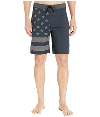 Hurley 20 Phantom Patriot Boardshorts (Black 2) Men
