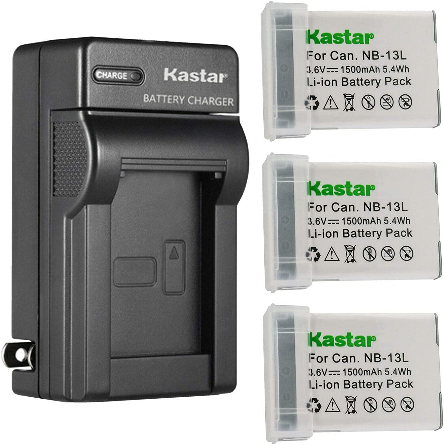 Kastar 3-Pack Battery and AC Wall Charger Long-awaited for Replacement Ranking TOP10 Canon