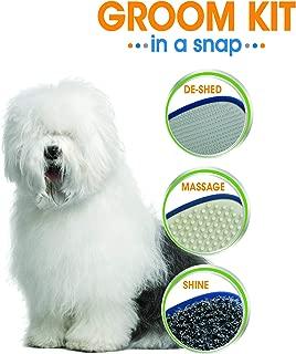 Four Paws Magic Coat Groom-in-a-Snap Pet Grooming Kit, 3 Heads, Bonus Storage Bag Included