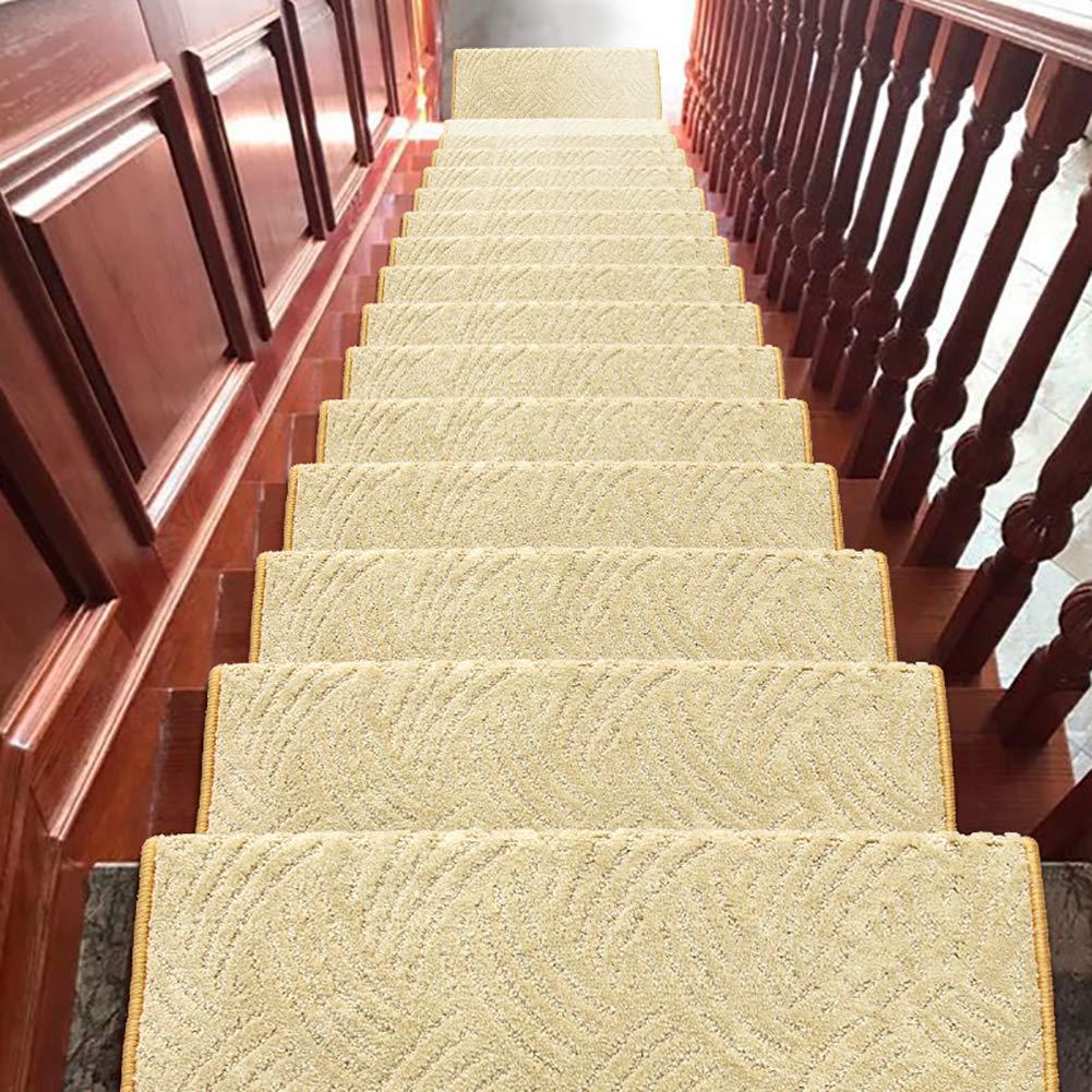 Anti De La Resbalón Almohadillas De Escalera Conjunto De 15, Autoadhesivo Alfombras para Escaleras Antideslizante Runner Tread Antideslizante para Niños Ancianos Perros-p 65x24x3cm(26x9x1inch): Amazon.es: Hogar