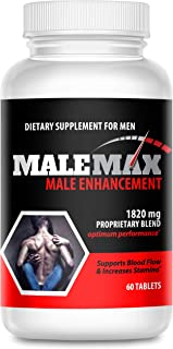 MaleMax Edge - Male Enlargement and Enhancement Pills - Increase Male Size Up to 3 Inches Fast- Performance Enhancer for M...