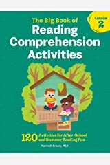The Big Book of Reading Comprehension Activities, Grade 2: 120 Activities for After-School and Summer Reading Fun Paperback