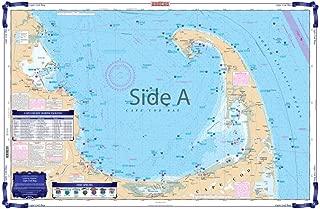 Waterproof Charts, Coastal Fishing, 65F Cape Cod Bay & Mass. Bay