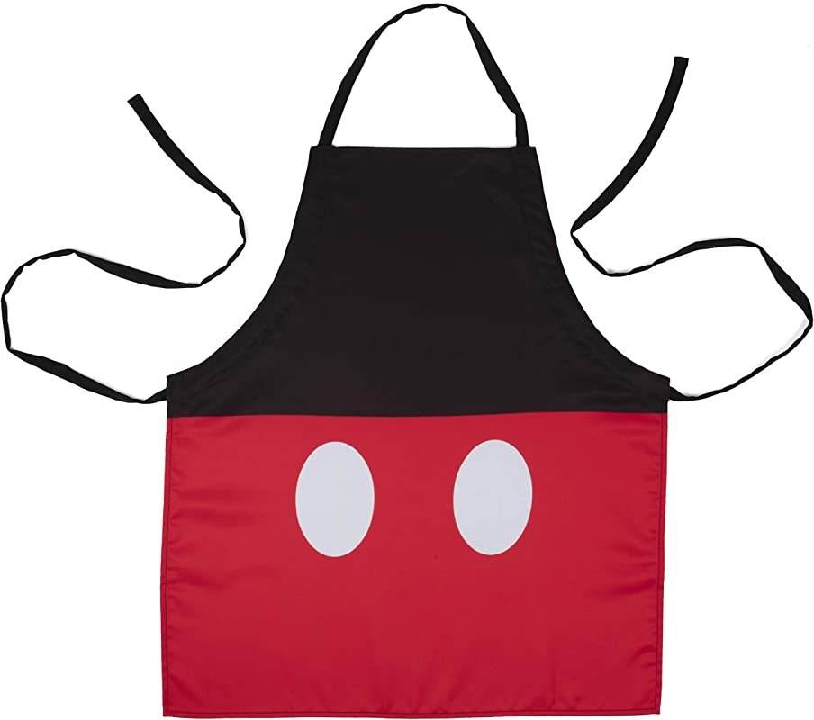 Disney Mickey Mouse Pants Kitchen Apron Adjustable Adult Size Great For Cooking Grilling
