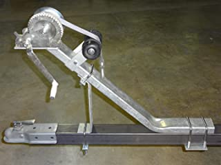 winch post bow stop assembly