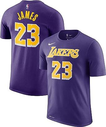 Amazon.com : Lebron James Los Angeles Lakers Statement Edition ...