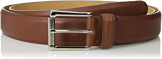 Cole Haan Men's 32 mm Burnished Edge Milled Egyptian Cow Belt