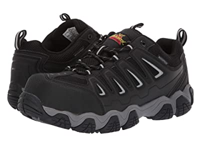 Thorogood Crosstrex Oxford Waterproof Comp Toe (Black/Grey) Men