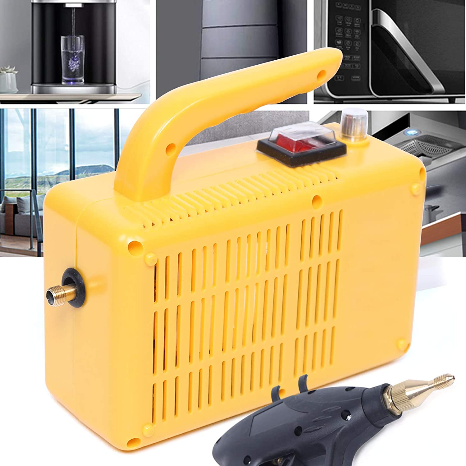 Gdrasuya10 1600W High Pressure All items free shipping 360°All-Round Easy-to-use Cleaner Steam C