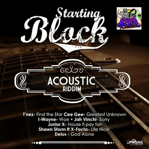 Starting Block Acoustic Riddim Instrumental by Collegeboiz