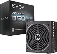 EVGA SuperNOVA 850 P2, 80+ PLATINUM 850W , Fully Modular , EVGA ECO Mode, 10 Year Warranty , Includes FREE Power On Self T...