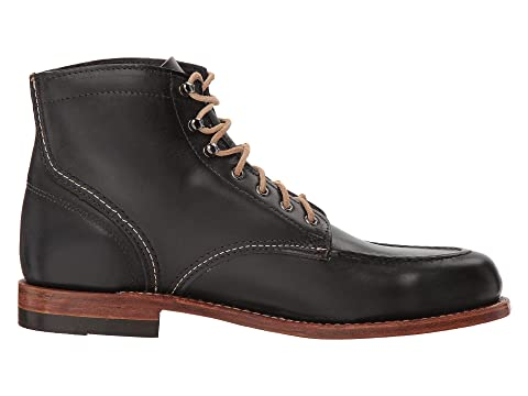 Mile 1000 Black 1940 Boot Leather LeatherTan Wolverine LeatherNatural qBw5dFIBx