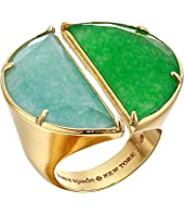 Kate Spade New York - Half Moon Split Scallop Statement Ring