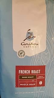 Caribou Whole Bean Coffee 40 oz. Bag (French Roast Dark)