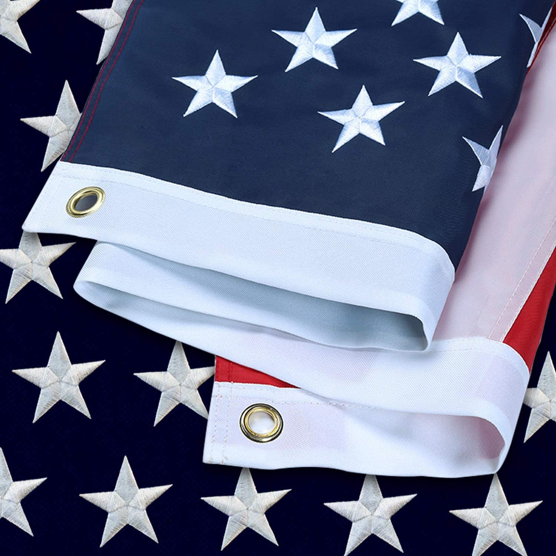 American Award flag 4x6 FT outdoor-heavy Nylon Indefinitely bright colors USA