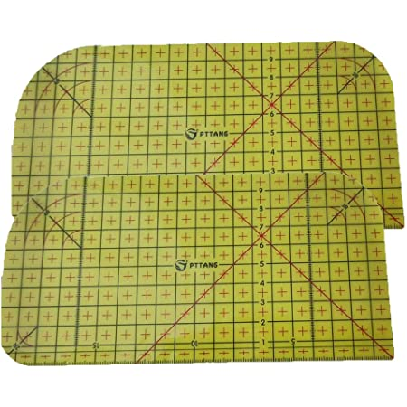 Sdoveb Hot Ironing Ruler Patchwork Tailor Craft DIY Sewing Supplies Measuring Tool for Various Sewing and Hemming