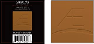 Aesthetica Cosmetics Powder Refill for Tan to Dark Powder Contour and Highlighting Palette (Honey Bunny)