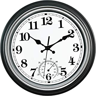 extra large outdoor clocks