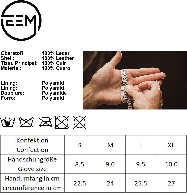 klassisch EEM Herren Leder Handschuhe BENNY aus Wildleder
