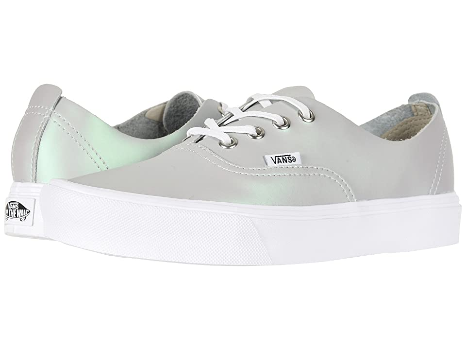 Vans Authentic Decon Lite ((Muted Metallic) Gray/Green) Skate Shoes
