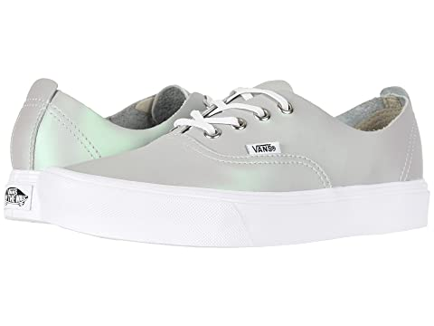 Shop Offer Sale Online Cheap Sale Pictures Vans Authentic Decon Lite (Muted Metallic) Gray/Green Classic For Sale With Mastercard For Sale Free Shipping Fake mBRyZNJ4x
