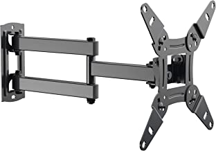 """Full Motion TV Wall Mount Bracket fits to Most 13-40 inch TVs & Monitors, Wall Mount TV Bracket with Arm Articulating Tilt Swivel & Extends 14.5"""" - TV Mount fits LED, LCD, OLED Flat Screen TVs"""