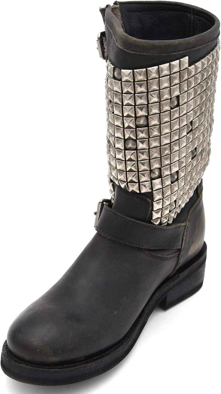 Ash Damen Bikers Stiefel Stiefel Stiefeletten Stiefel Art. FW18-MB-YG0228-002 Trash SW 40 schwarz schwarz  niedrigste Preise