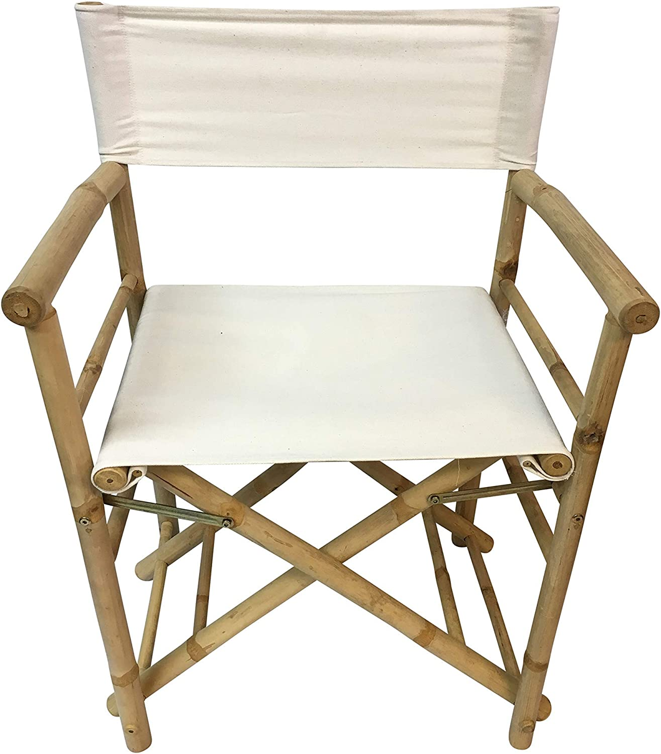 """Master Garden Products Bamboo Director Chair, 35""""H x 23""""W x 19""""D"""