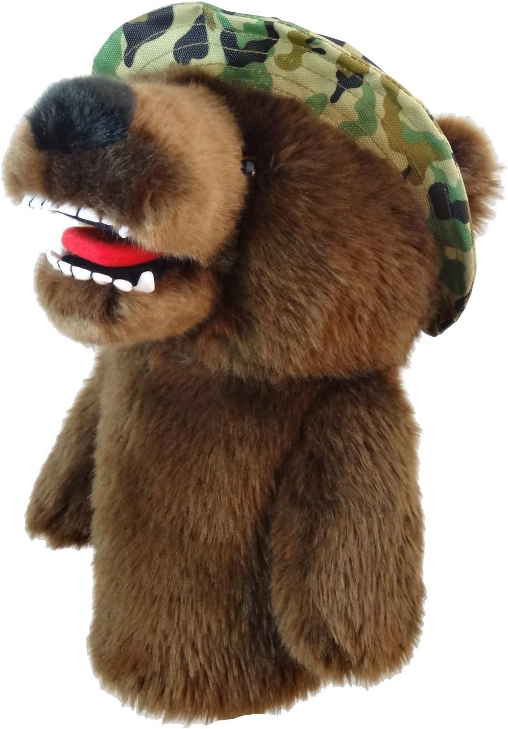 Daphne's Ranking TOP9 Popular Headcovers Military Bear