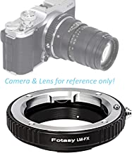 Fotasy Copper Leica M Lens to Fuji X Adapter, Leica M Mount to X-Mount Adapter, Compatible with Fujifilm X-Pro1 X-Pro2 X-E1 X-E2 X-E3 X-A5 X-M1 X-T1 X-T2 X-T3 X-T10 X-T20 X-T30 X-H1