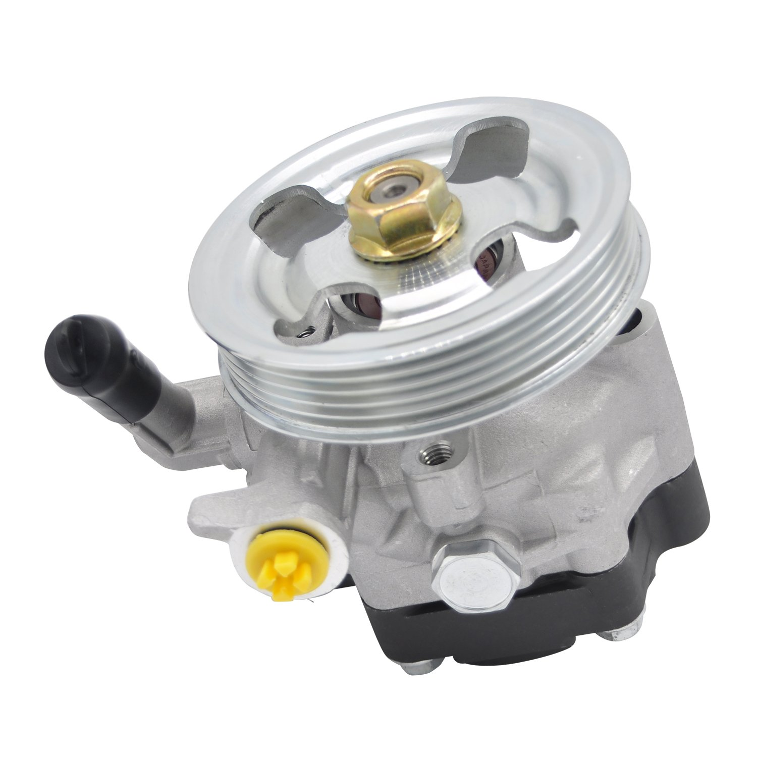 New Power Steering Pump With Pulley 34430AG03B 21-5196, For Subaru IMPREZA 2011/2012/2013 Subaru LEGACY 20052006/2007/2008/2009 Power Steering Pumps (OEM Specifications)