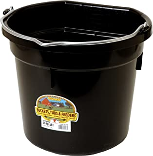 large horse water bucket