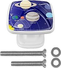 YATELI Planet Star zonnestelsel, 4 stuks, keukenknoppen, deurknop voor kast, ladenknop, deurknoppen, meubelknop