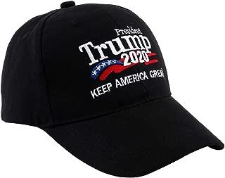Trump Hat, Donald Trump 2020 Hats for Men& Women, President Trump 2020 Keep America Great Campaign Hat, Size Adjustable Baseball Hat