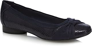 5fcb4dfa23a9 Good for the Sole Womens Navy 'Gabs' Wide Fit Pumps