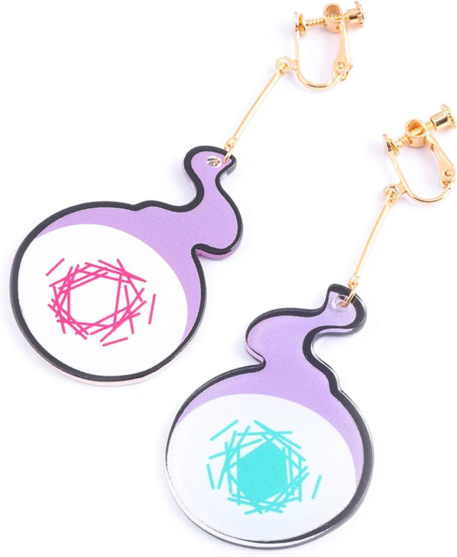 TopOneer Hanako Kun Dangle Drop Earrings, Anime Toilet Bound Hanako Kun Cosplay Prop Merch Jewelry Halloween for Women
