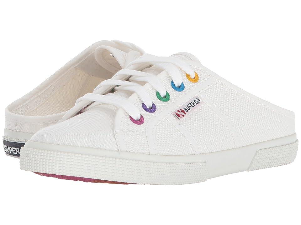 Superga 2288 Coloreycotw (White Multi) Women