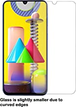 JGD PRODUCTS® [ Pack of 1 ] Samsung Galaxy M31/M21/M30S/M30 (Except Edges) Tempered Glass | Case Friendly Tempered glass with Installation kit