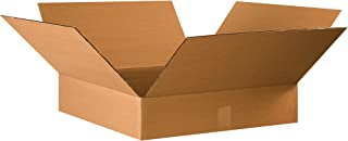 Boxes Fast BF22224 Corrugated Cardboard Flat Shipping Boxes, 22