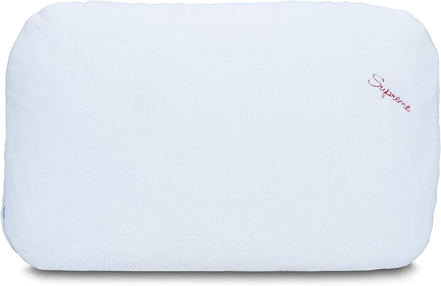 Quality inspection I Love Pillow Supreme Queen White Easy-to-use