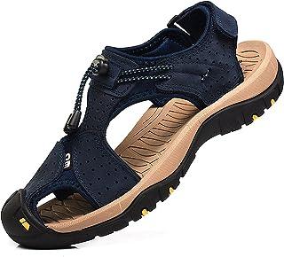 f400408d Amazon.es: Piel - Sandalias y chanclas / Zapatos para hombre ...
