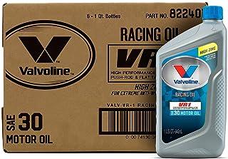 Best Valvoline 822401 VR1 Racing SAE 30 Motor Oil 1 QT, Case of 6 Review