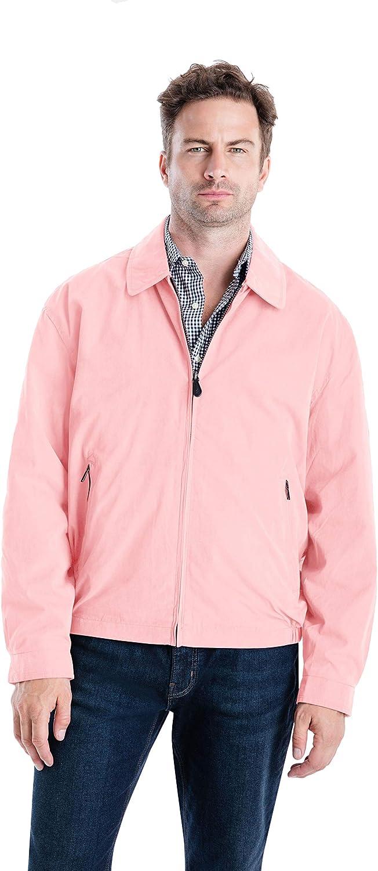 Men's Vintage Jackets & Coats London Fog Mens Auburn Zip-Front Golf Jacket (Regular & Big-Tall Sizes) $34.95 AT vintagedancer.com